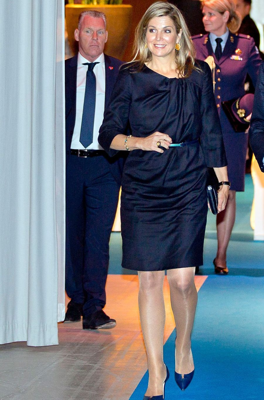 La reine Maxima des Pays-Bas va renontrer des chefs d'entreprise à La Haye, le 23 janvier 2017