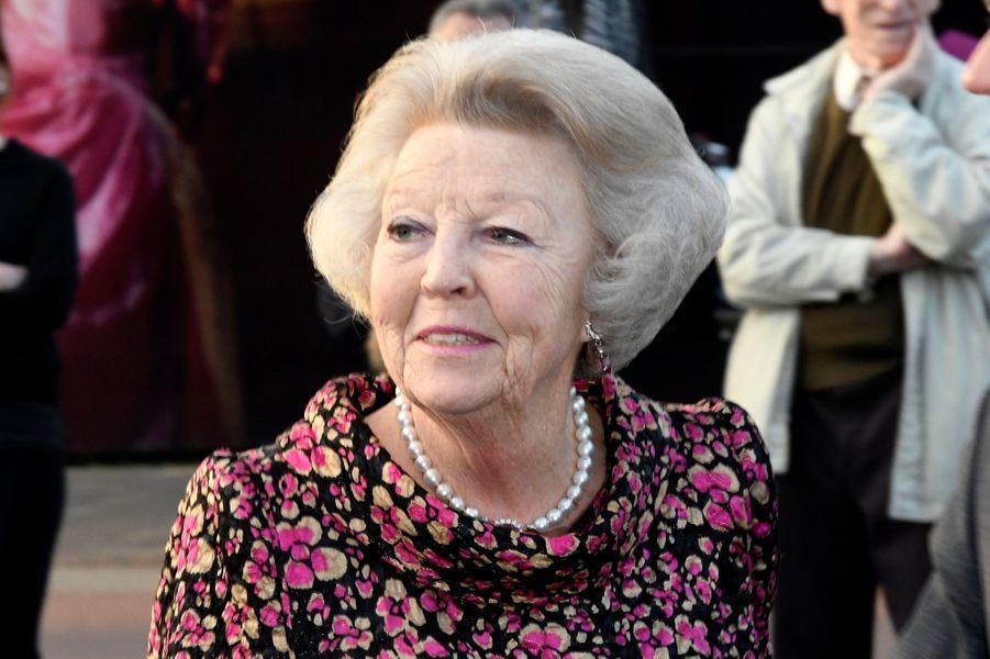 La princesse Beatrix des Pays-Bas à Tilburg, le 3 avril 2017