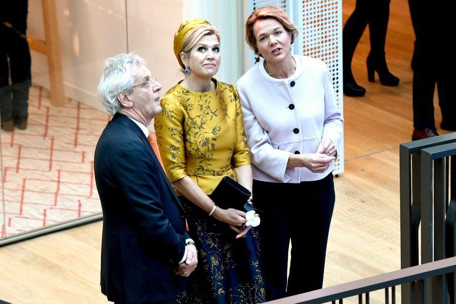 La reine Maxima des Pays-Bas, le 6 décembre 2018 à Amsterdam