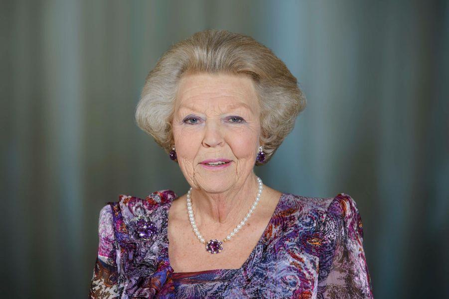 L'ancienne reine Beatrix des Pays-Bas