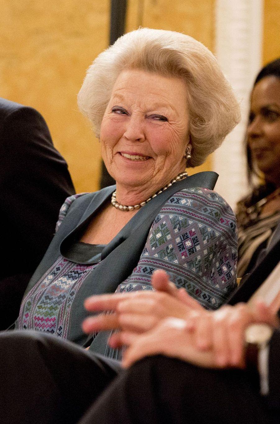 La princesse Beatrix des Pays-Bas à La Haye, le 26 mai 2016