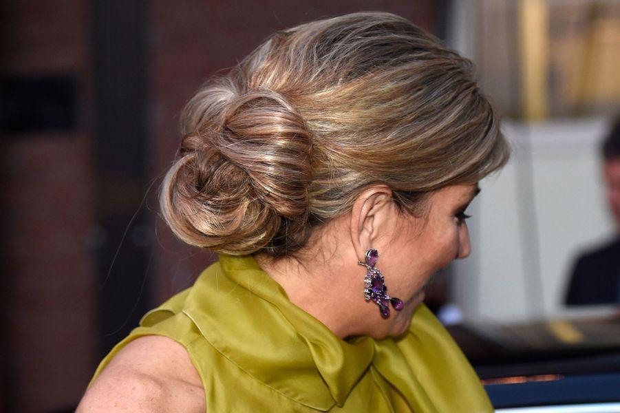 La reine Maxima des Pays-Bas à Eindhoven, le 26 mai 2016