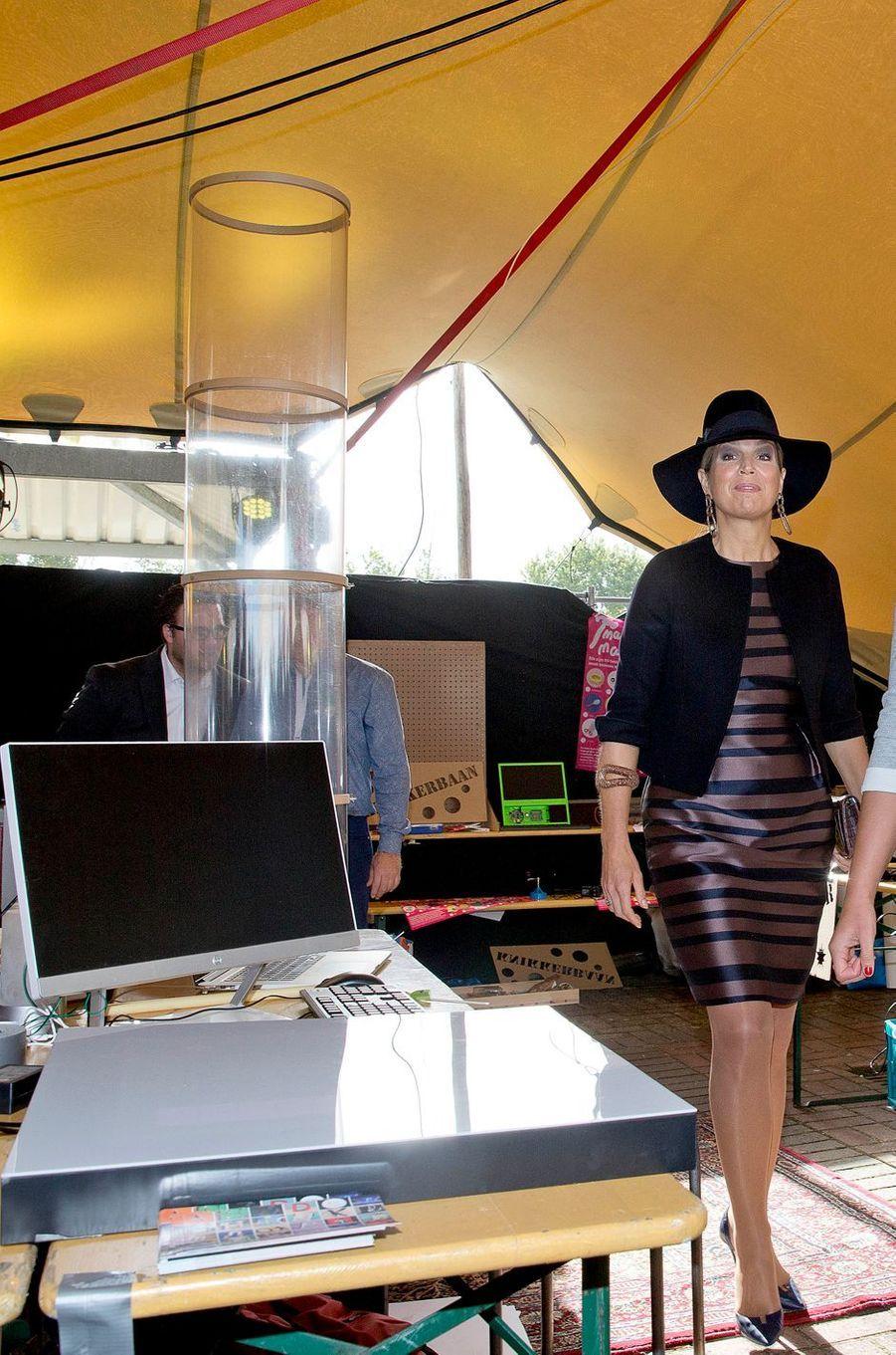 La reine Maxima des Pays-Bas à Amersfoort, le 6 octobre 2017