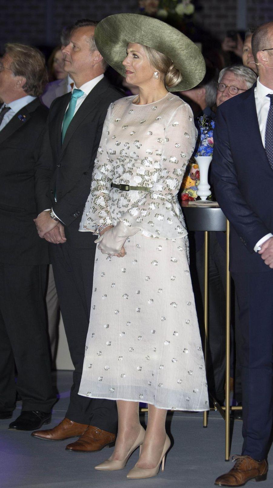 La reine Maxima des Pays-Bas à Amsterdam, le 16 mai 2019