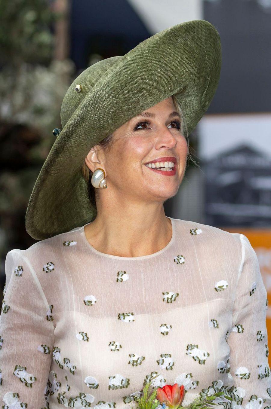 La reine Maxima des Pays-Bas, le 16 mai 2019 à Amsterdam