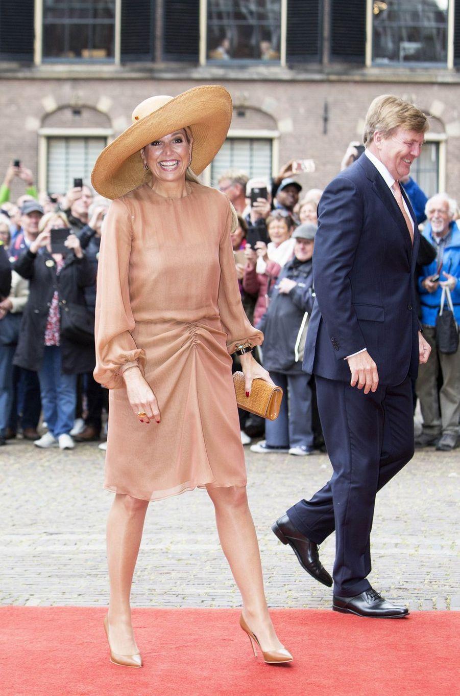 La reine Maxima et le roi Willem-Alexander des Pays-Bas à La Haye, le 17 mai 2019