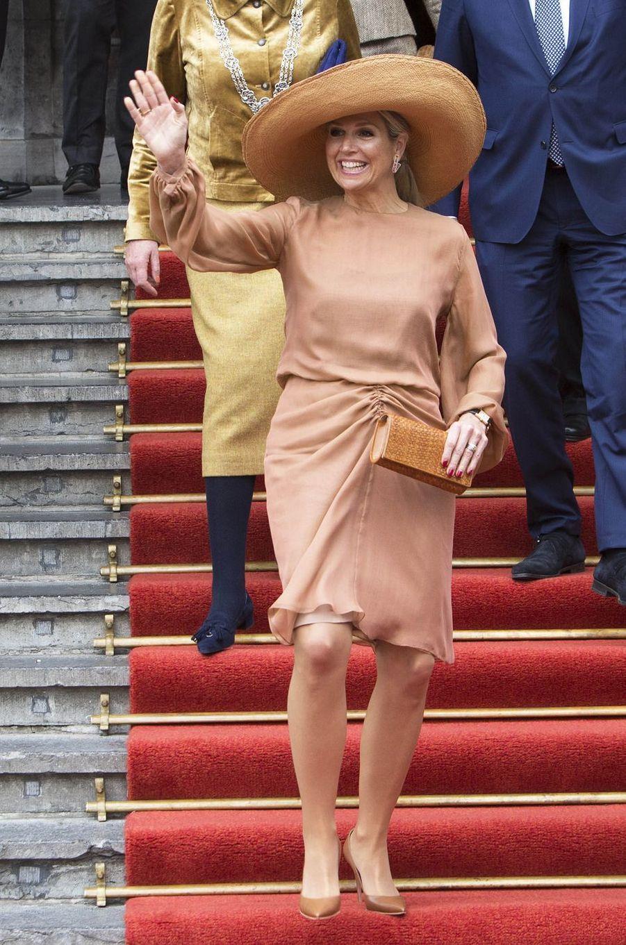 La reine Maxima des Pays-Bas à La Haye, le 17 mai 2019