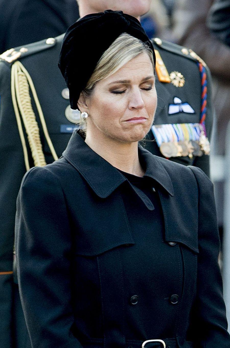 La reine Maxima des Pays-Bas à Amsterdam, le 4 mai 2016