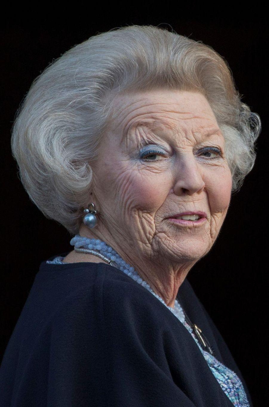 La princesse Beatrix des Pays-Bas à Amsterdam, le 17 janvier 2017