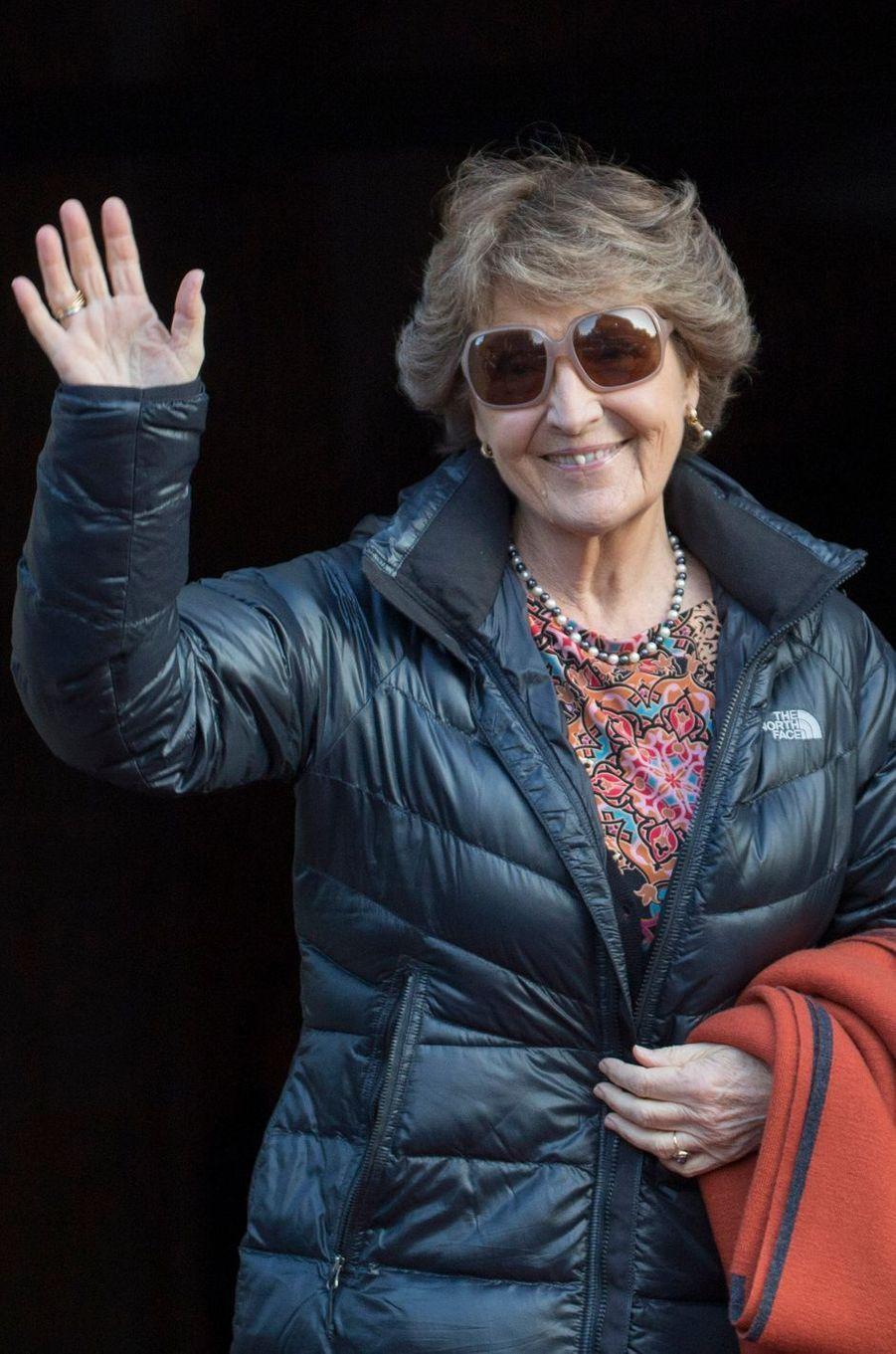 La princesse Margriet des Pays-Bas à Amsterdam, le 17 janvier 2017
