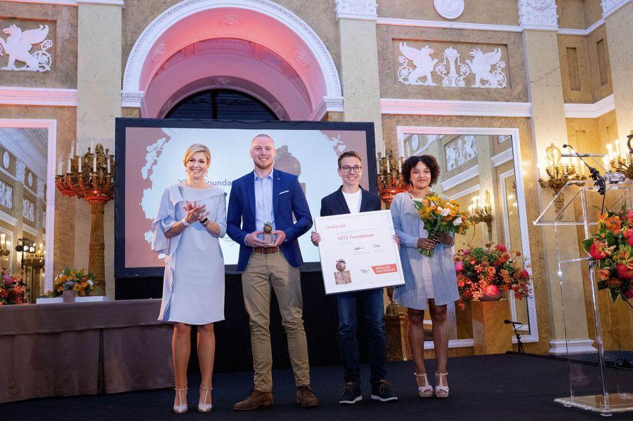 La reine Maxima des Pays-Bas à La Haye, le 6 juin 2018