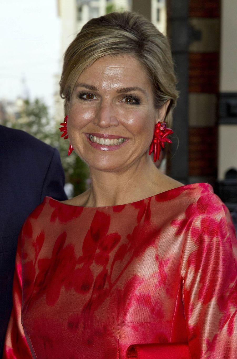 La reine Maxima des Pays-Bas à Amsterdam, le 4 juin 2016