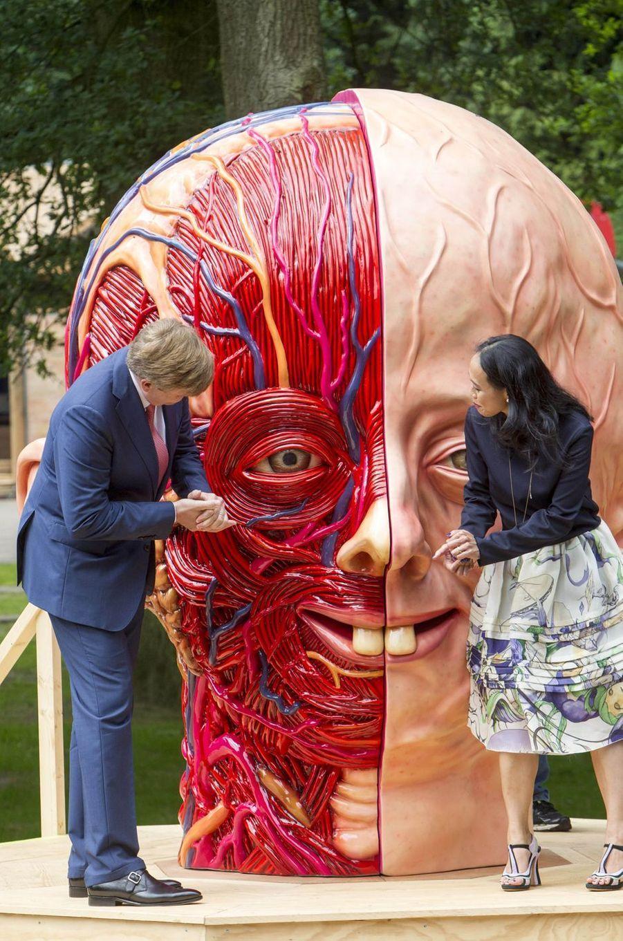Le roi Willem-Alexander des Pays-Bas à Arnhem, le 4 juin 2016