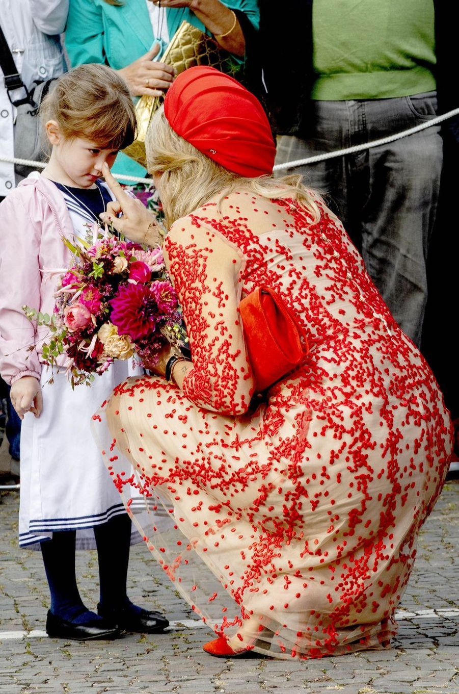 La reine Maxima des Pays-Bas à Sarrebruck, le 11 octobre 2018