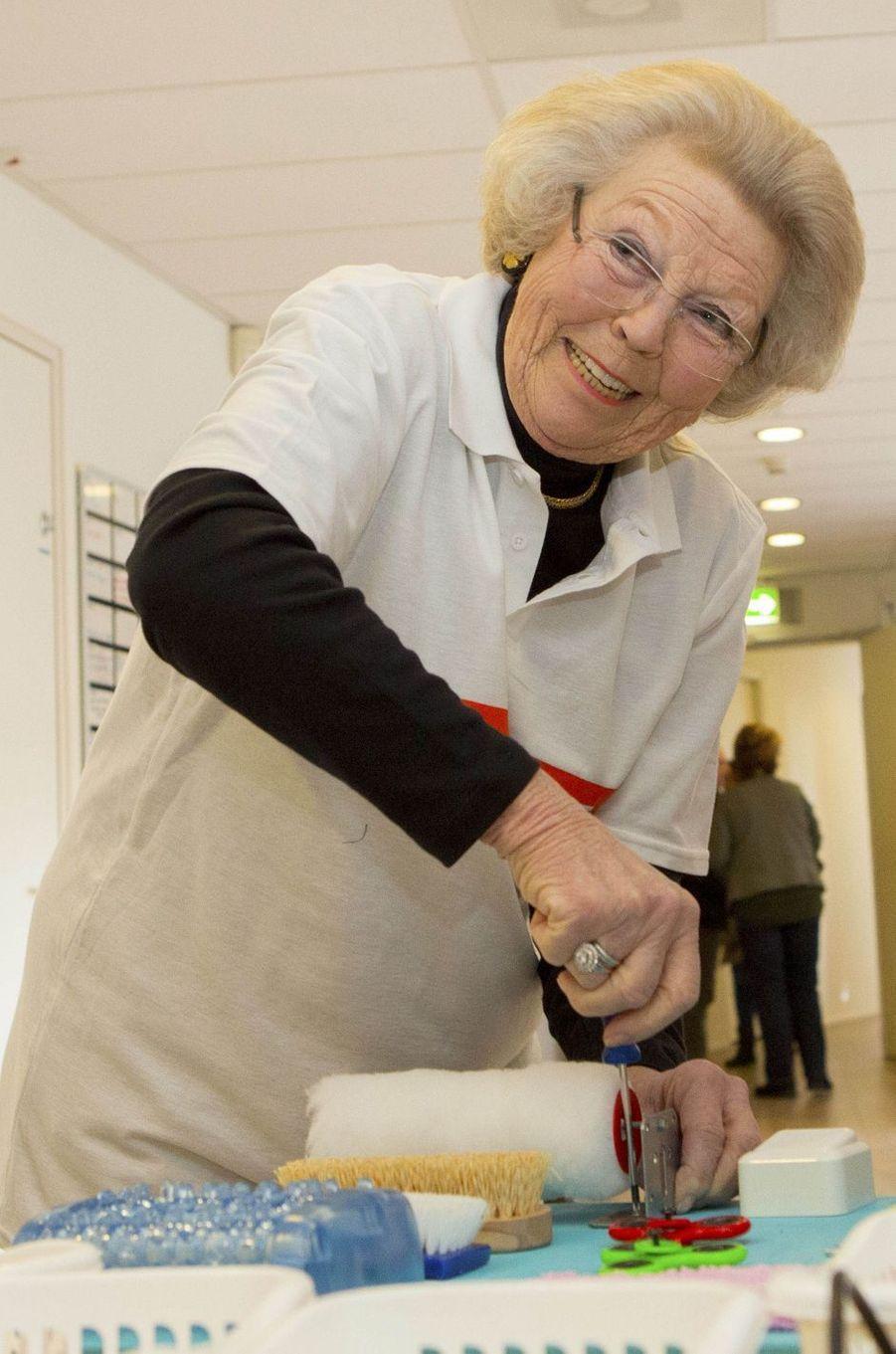 L'ex-reine Beatrix des Pays-Bas à Amersfoort, le 9 mars 2018
