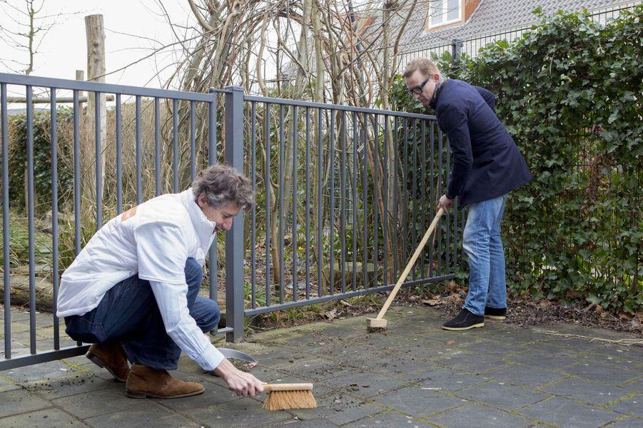 Le prince Bernhard des Pays-Bas à Amersfoort, le 9 mars 2018