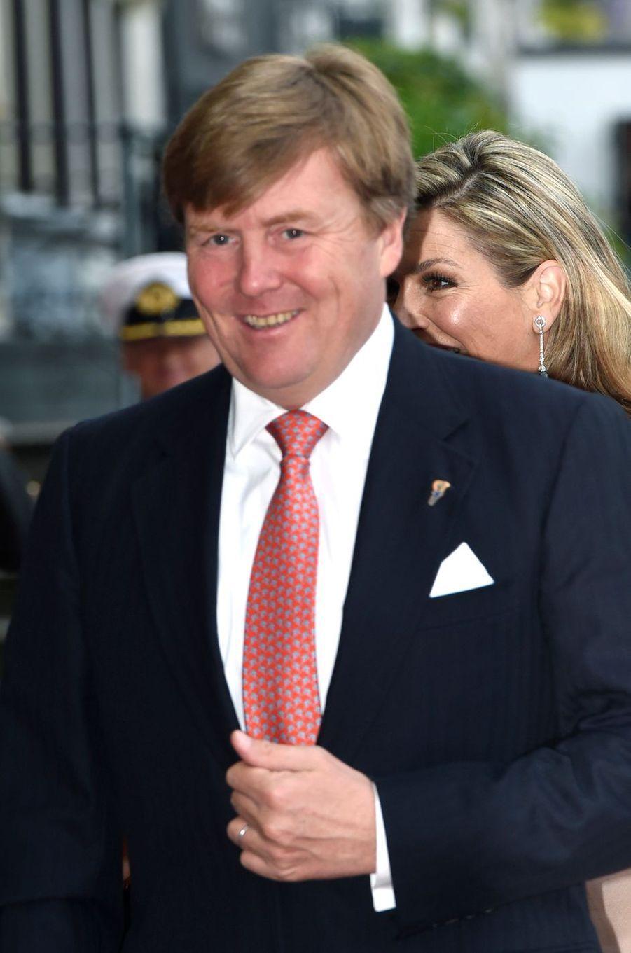 Le roi Willem-Alexander des Pays-Bas à Amsterdam, le 5 mai 2017