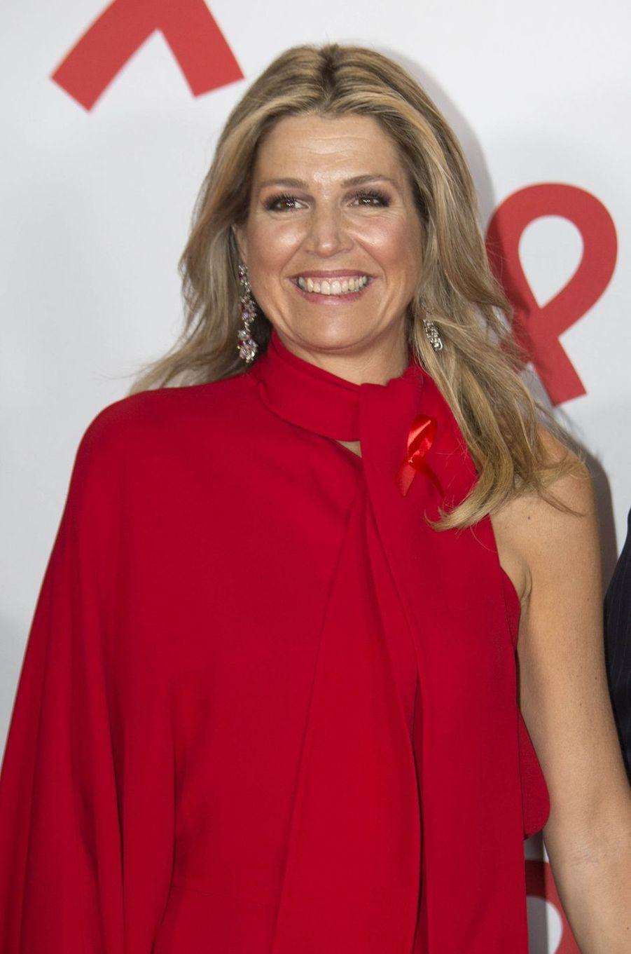 La reine Maxima des Pays-Bas à Amsterdam, le 16 mai 2018