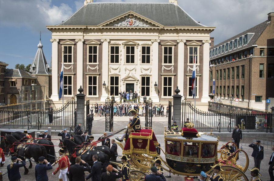 La princesse Beatrxi des Pays-Bas à La Haye, le 20 septembre 2016