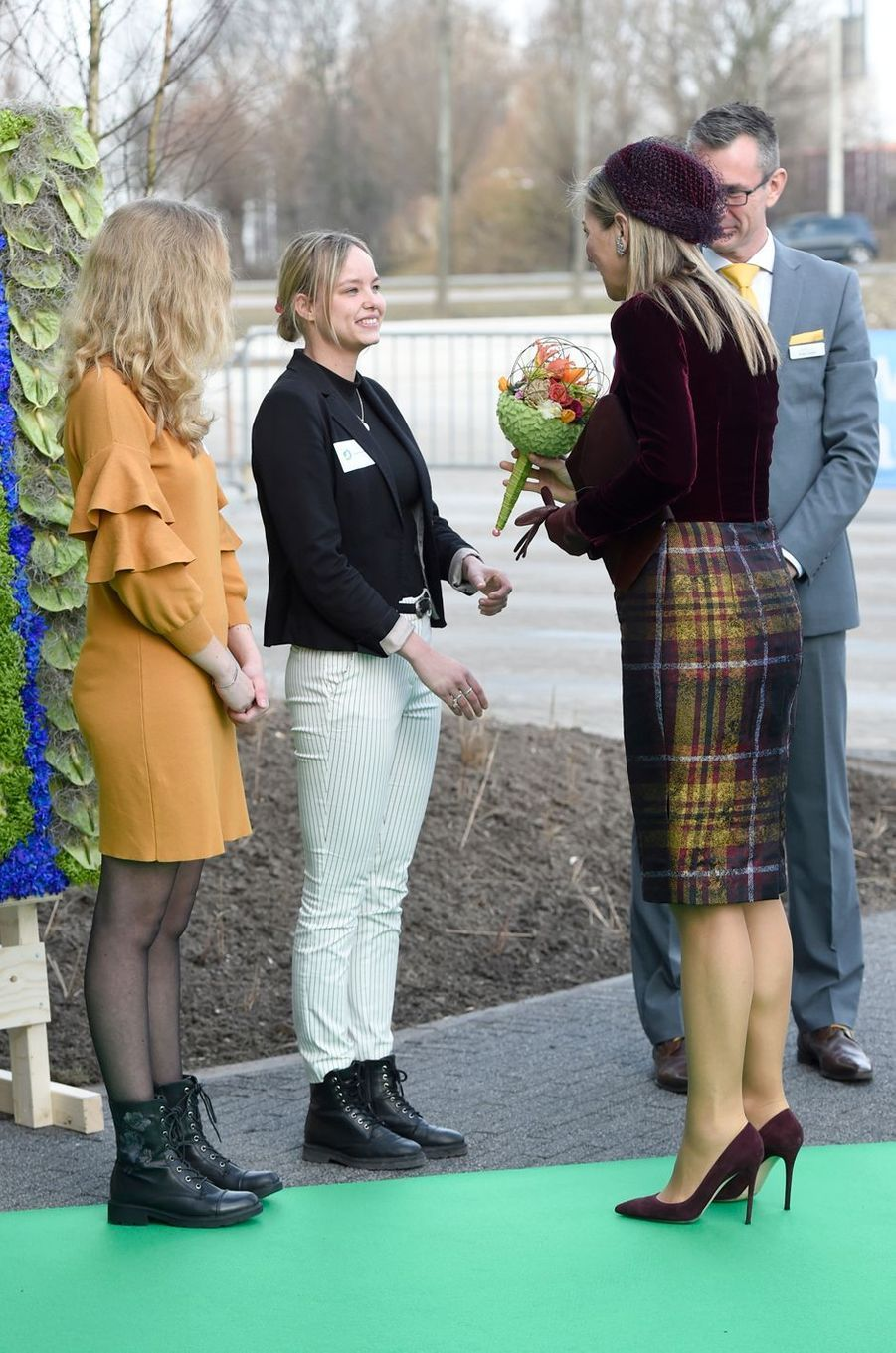 La reine Maxima des Pays-Bas à Westland, le 7 mars 2018