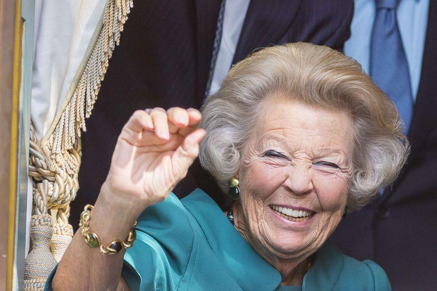 La princesse Beatrix des Pays-Bas à La Haye, le 19 septembre 2017