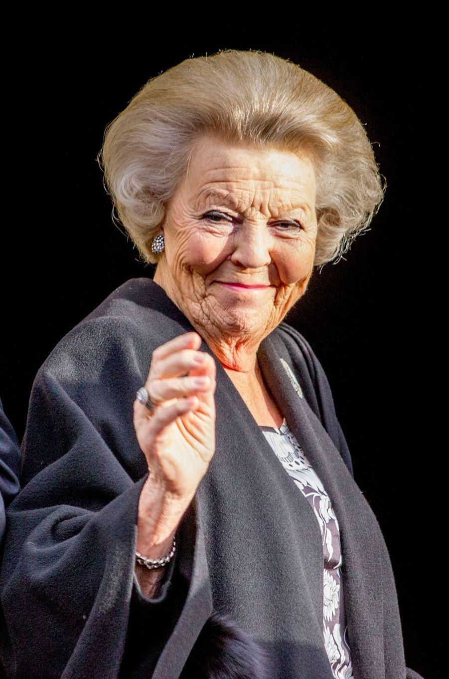 La princesse Beatrix des Pays-Bas à Amsterdam, le 28 novembre 2017
