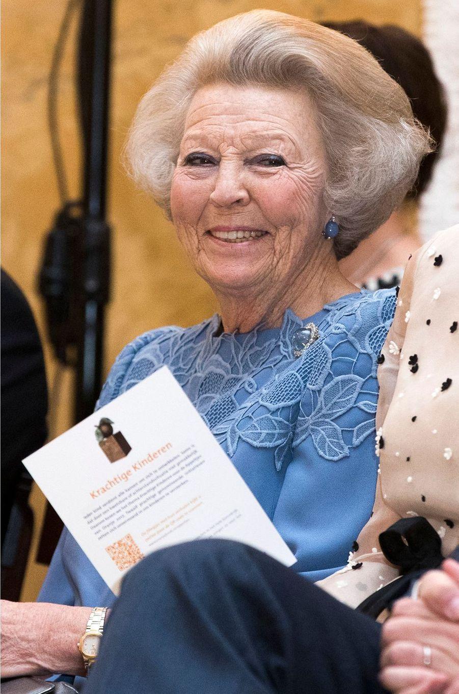 La princesse Beatrix des Pays-Bas à La Haye, le 18 mai 2017