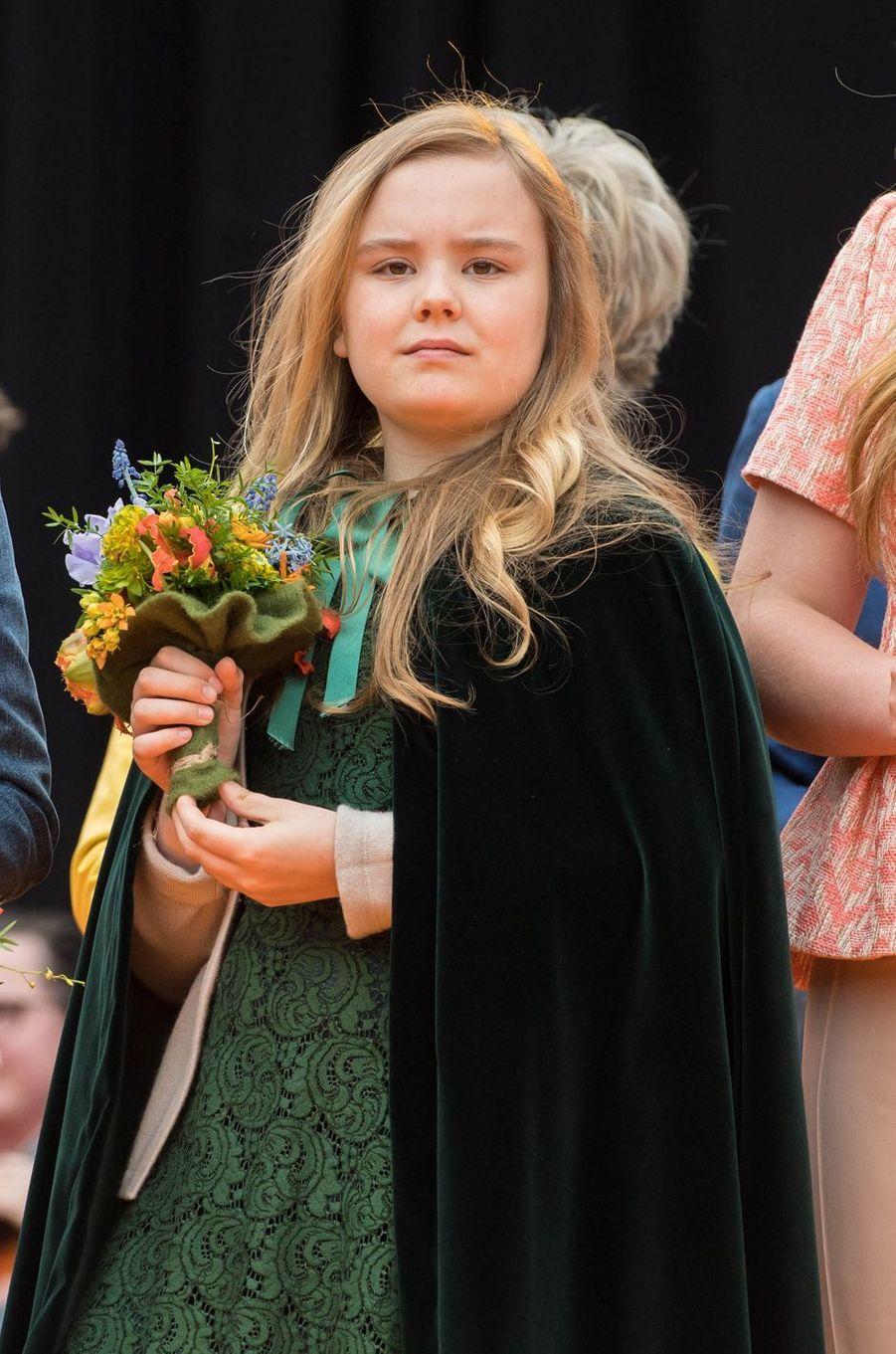 La princesse Ariane des Pays-Bas à Groningen, le 27 avril 2018