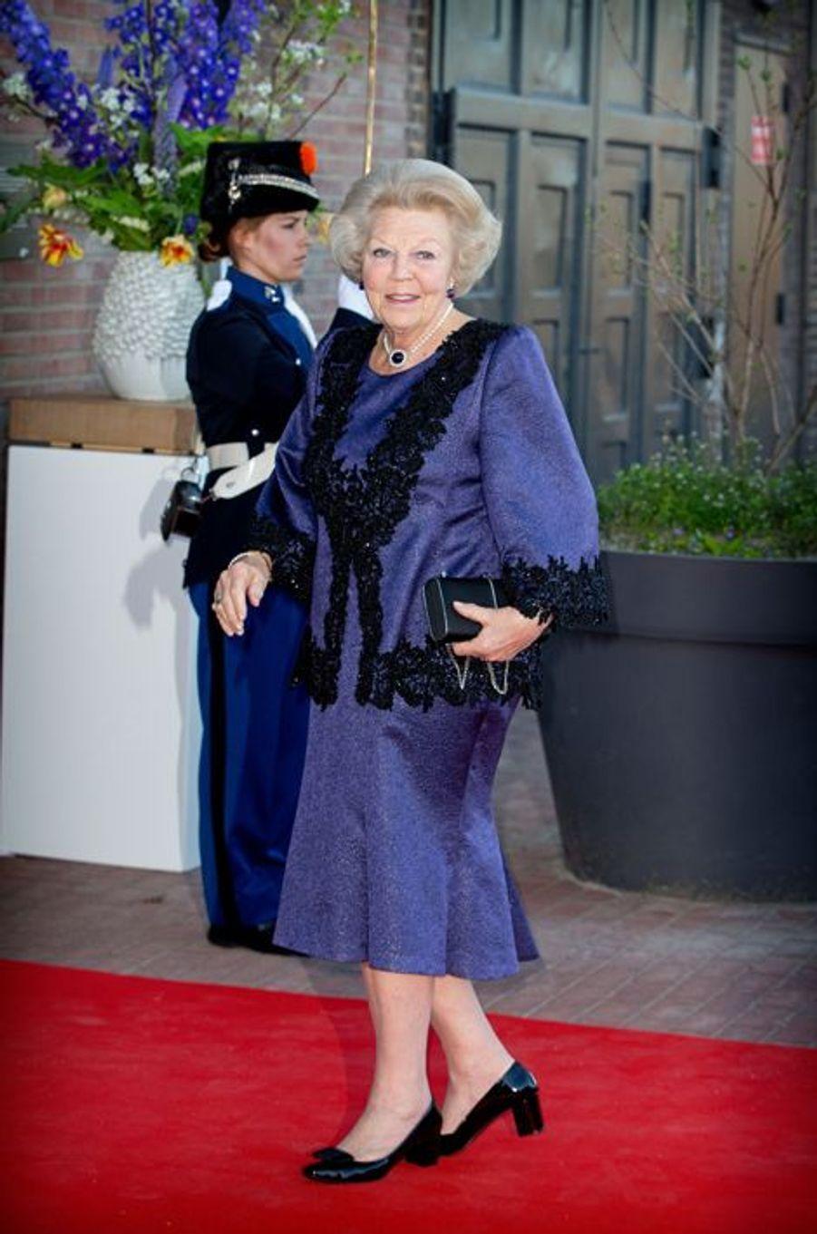 L'ex-reine Beatrix des Pays-Bas à Dordrecht, le 14 avril 2015