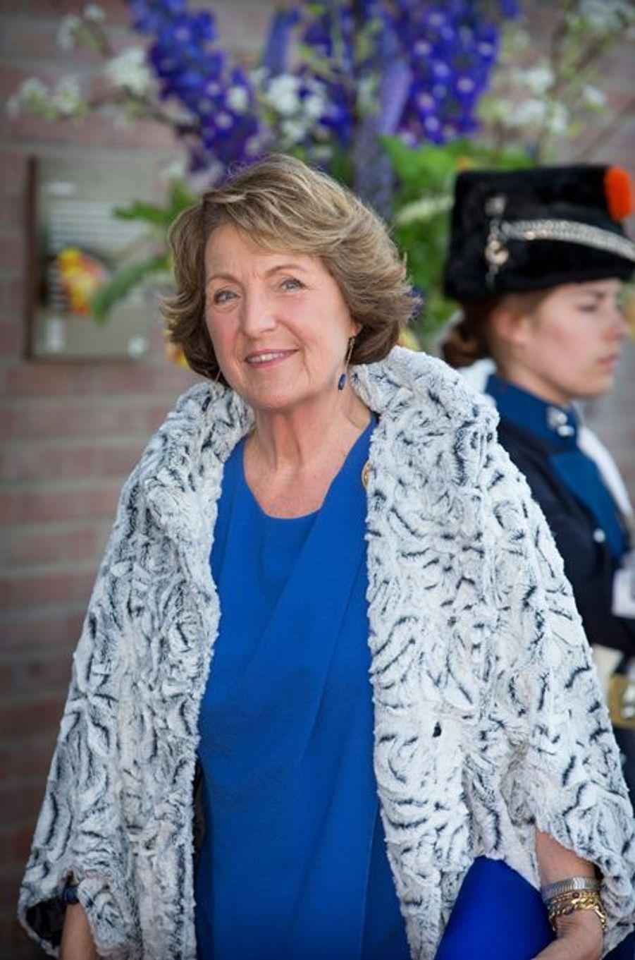 La princesse Margriet des Pays-Bas à Dordrecht, le 14 avril 2015