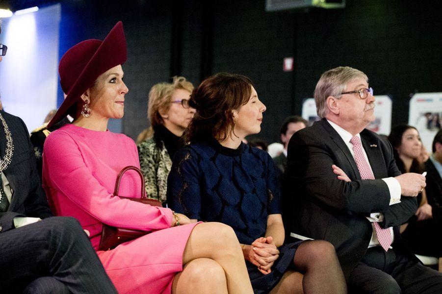 La reine Maxima des Pays-Bas à Amersfoort, le 27 mars 2018