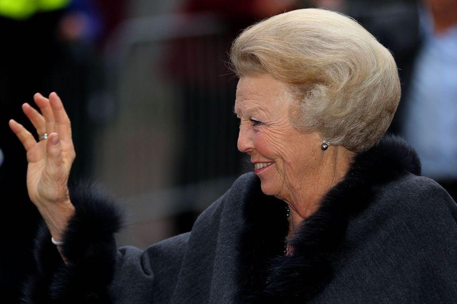 La princesse Beatrix des Pays-Bas à Zwolle, le 18 avril 2016