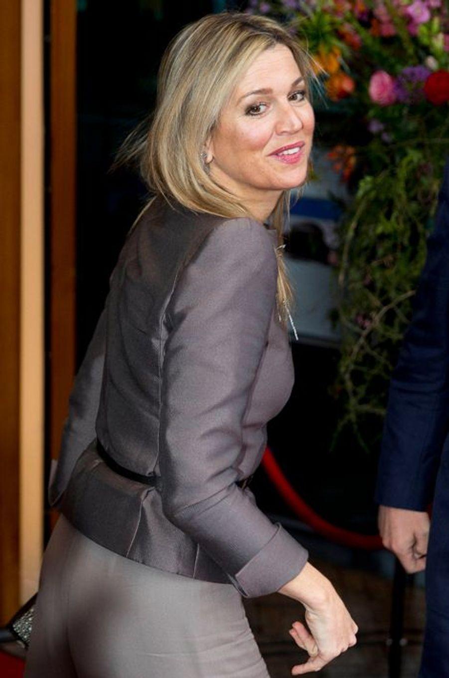 La reine Maxima des Pays-Bas à Zwolle, le 18 avril 2016