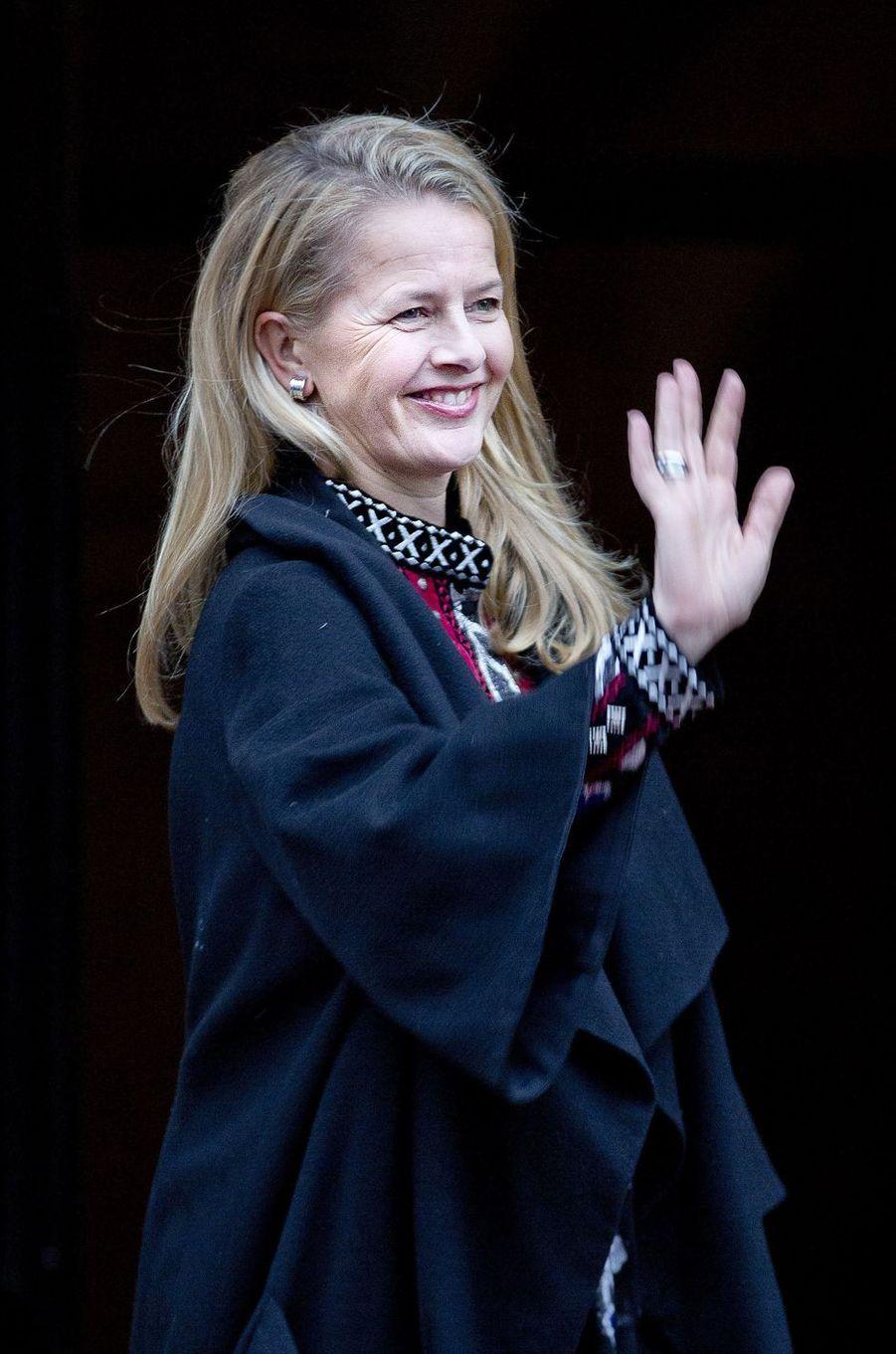 La princesse Mabel des Pays-Bas à Amsterdam, le 6 décembre 2017