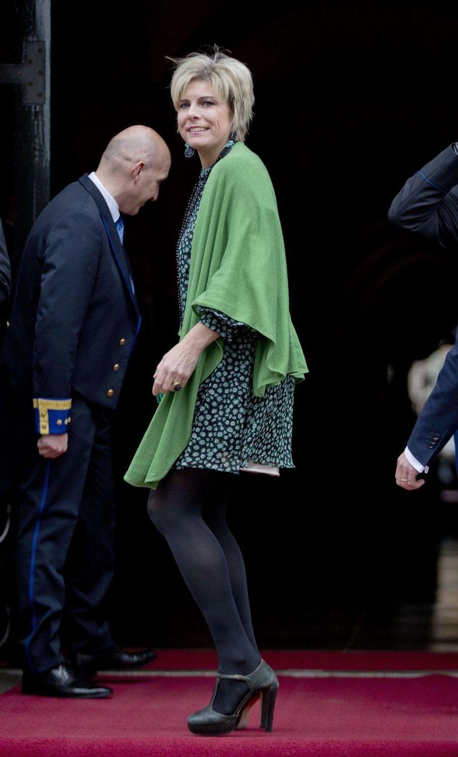 La princesse Laurentien des Pays-Bas à Amsterdam, le 6 décembre 2017