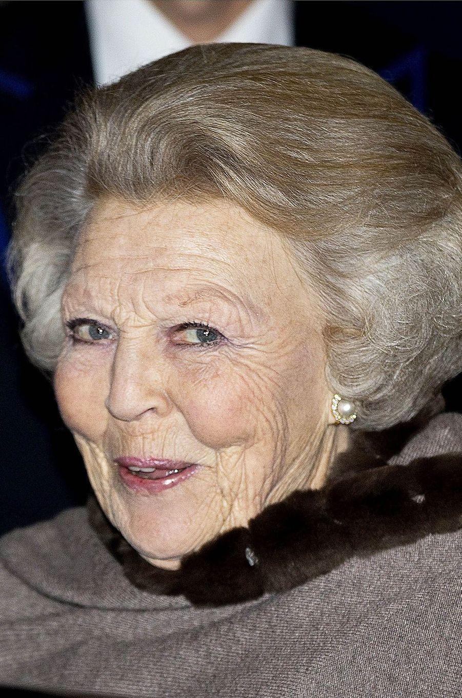 La princesse Beatrix des Pays-Bas à Amsterdam, le 6 décembre 2017