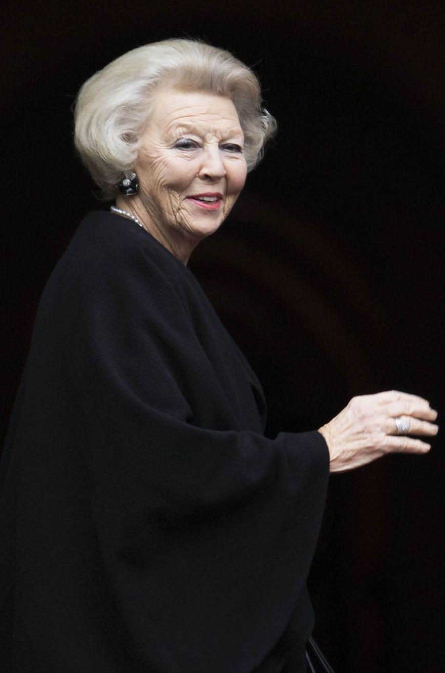 La princesse Beatrix des Pays-Bas à Amsterdam, le 15 décembre 2016