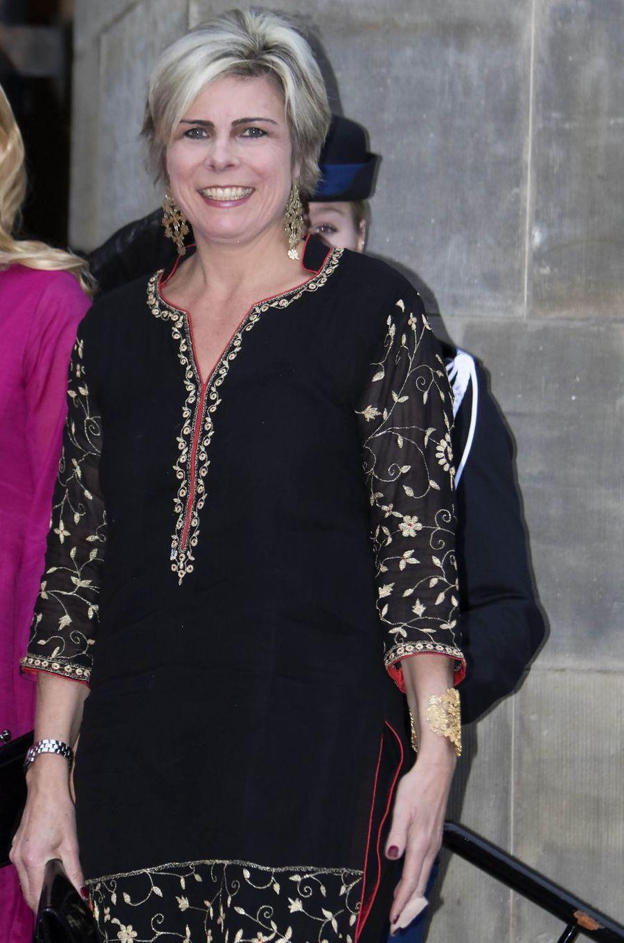 La princesse Laurentien des Pays-Bas à Amsterdam, le 15 décembre 2016