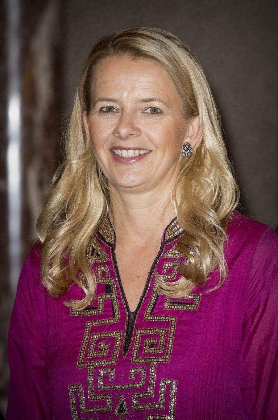 La princesse Mabel des Pays-Bas à Amsterdam, le 15 décembre 2016