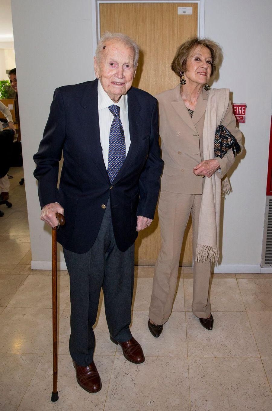 Les parents de la reine Maxima des Pays-Bas à Buenos-Aires, le 11 octobre 2016