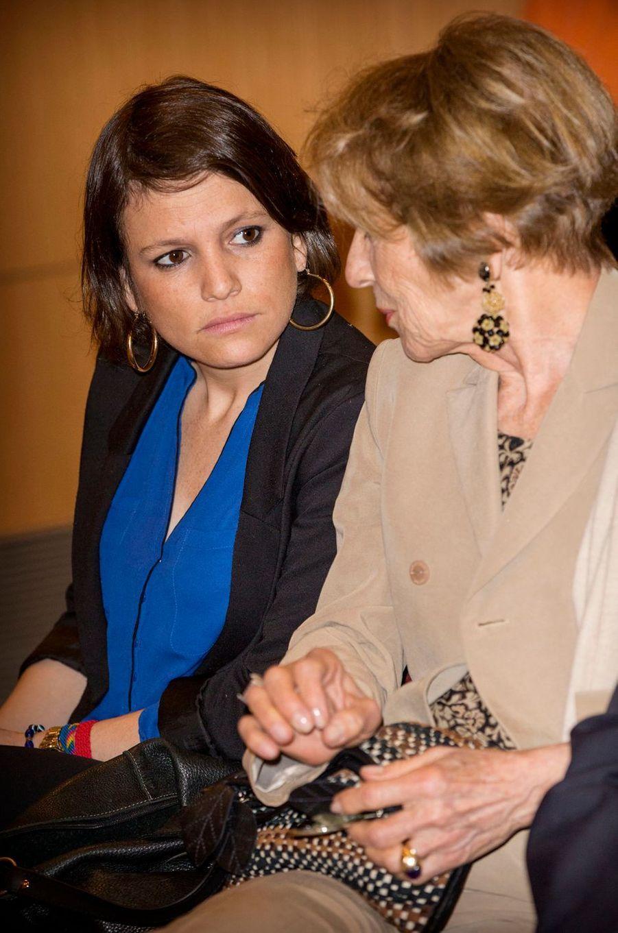 La soeur et la mère de la reine Maxima des Pays-Bas à Buenos-Aires, le 11 octobre 2016
