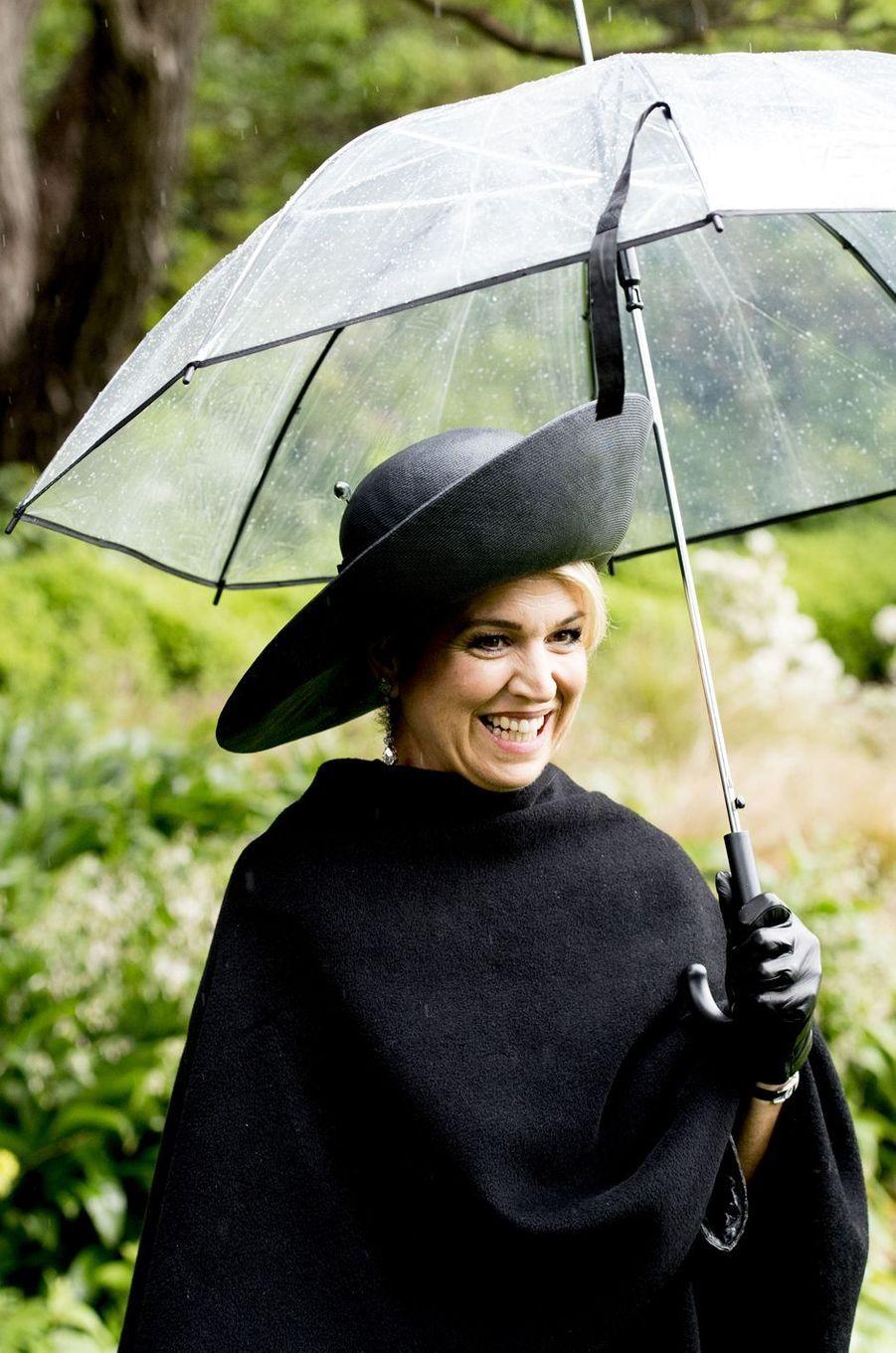 La reine Maxima des Pays-Bas à Wellington, le 7 novembre 2016