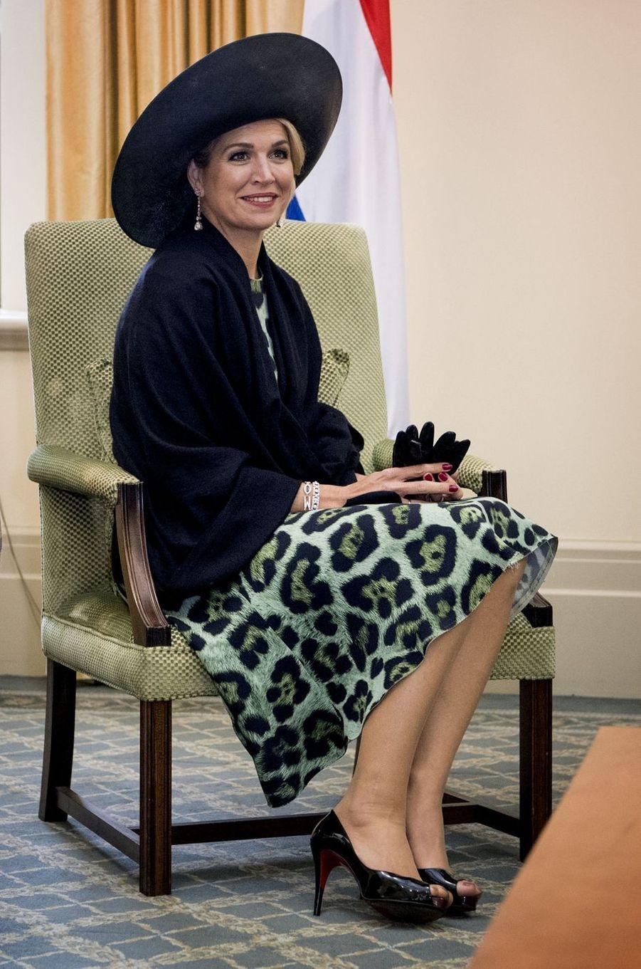 Maxima royale à Wellington