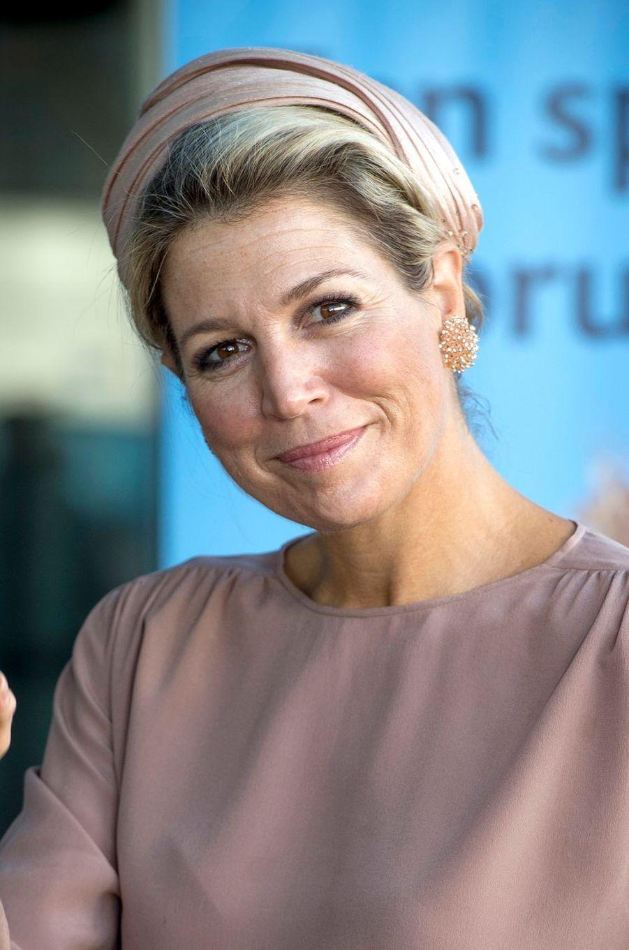 La reine Maxima des Pays-Bas à Utrecht, le 15 septembre 2017