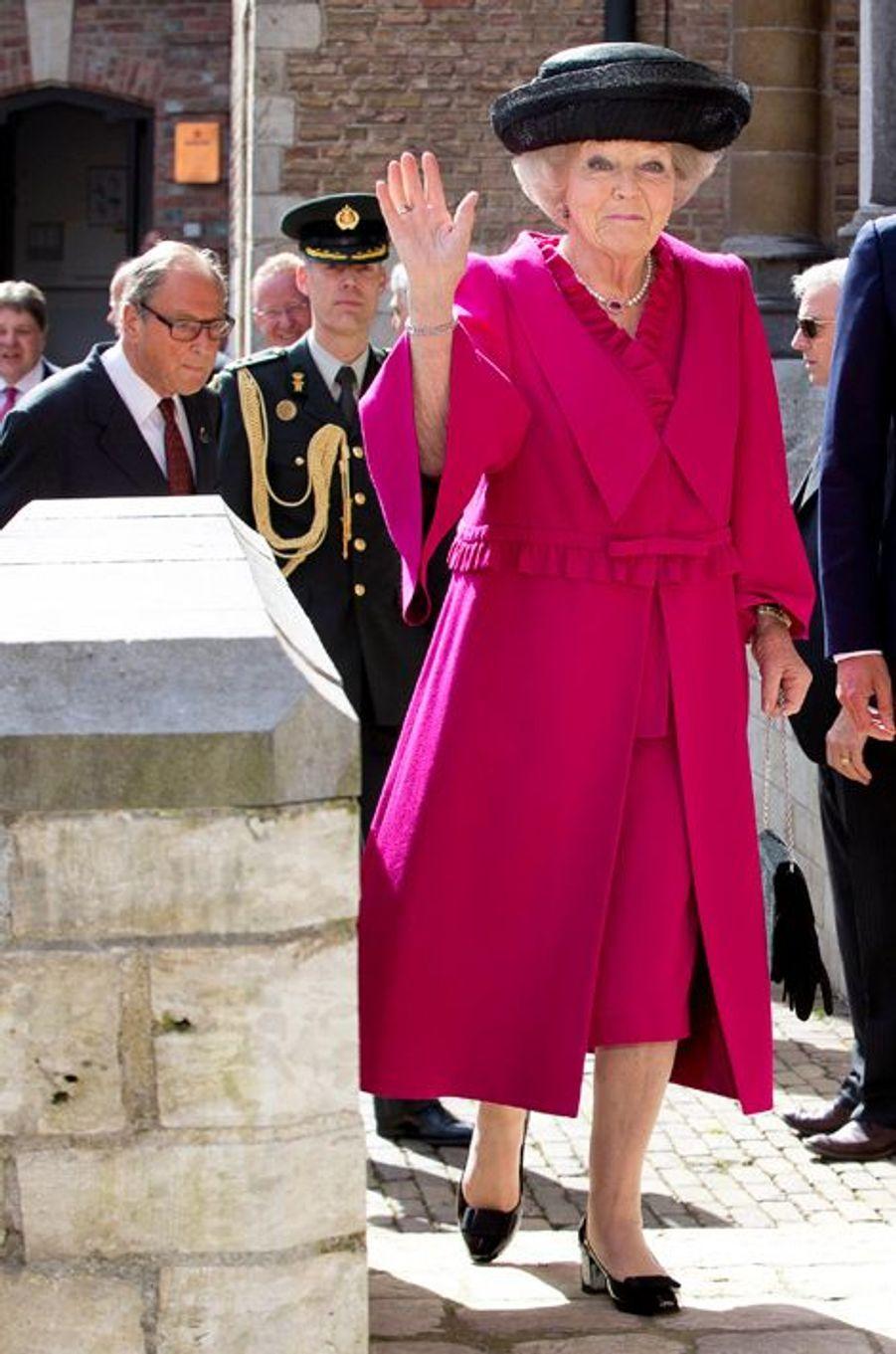 La princesse Beatrix des Pays-Bas à Middelburg, le 21 avril 2016