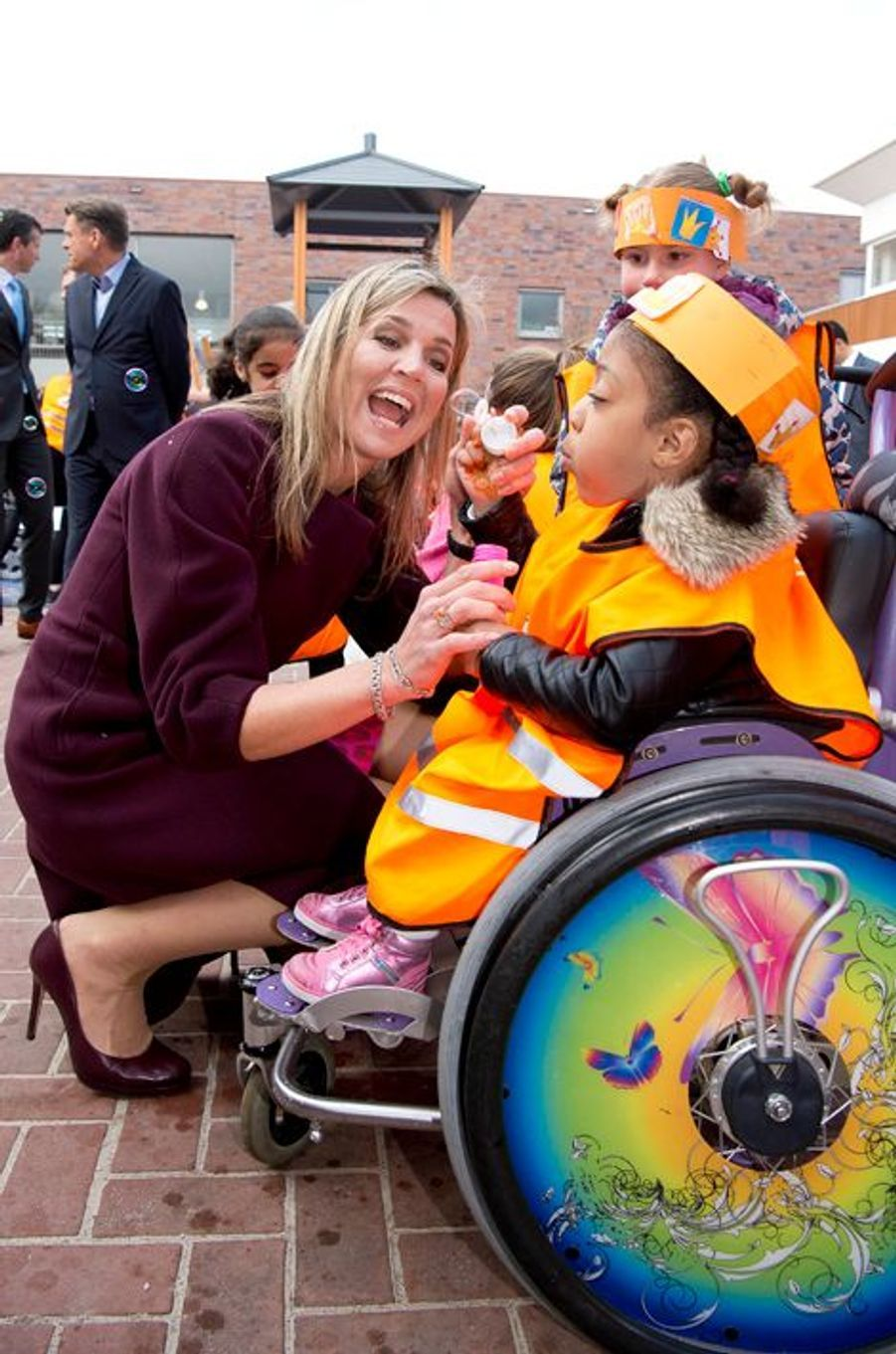 La reine Maxima des Pays-Bas à Amsterdam, le 22 avril 2016