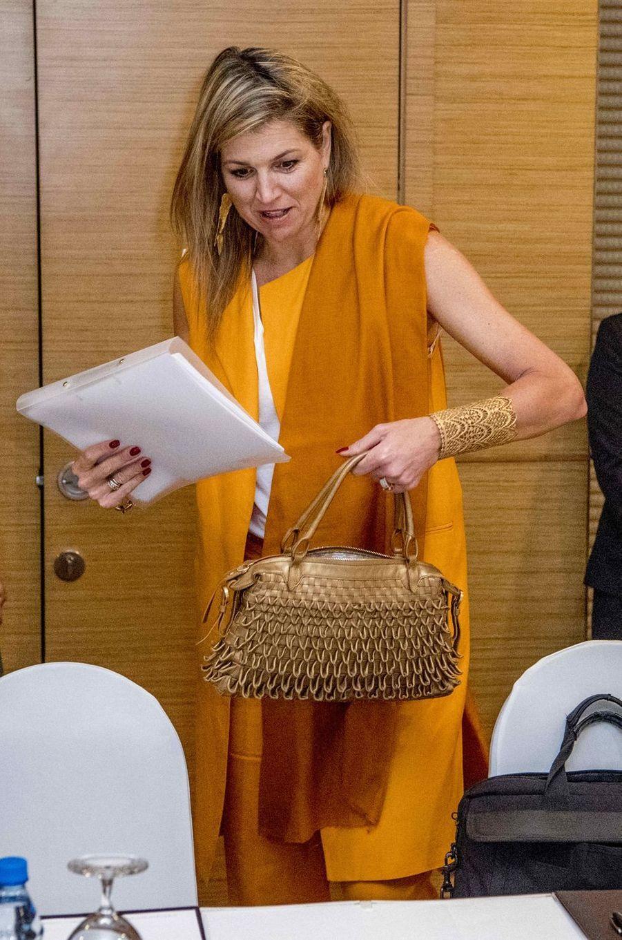 La reine Maxima des Pays-Bas à Ho Chi Minh-Ville au Vietnam, le 30 mai 2017