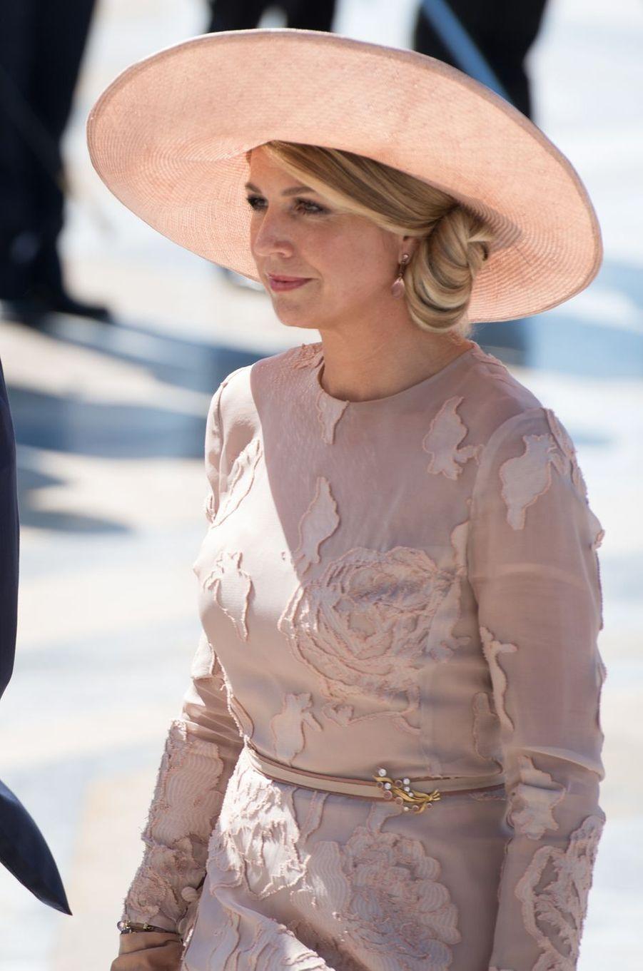 La reine Maxima des Pays-Bas à Rome le 20 juin 2017