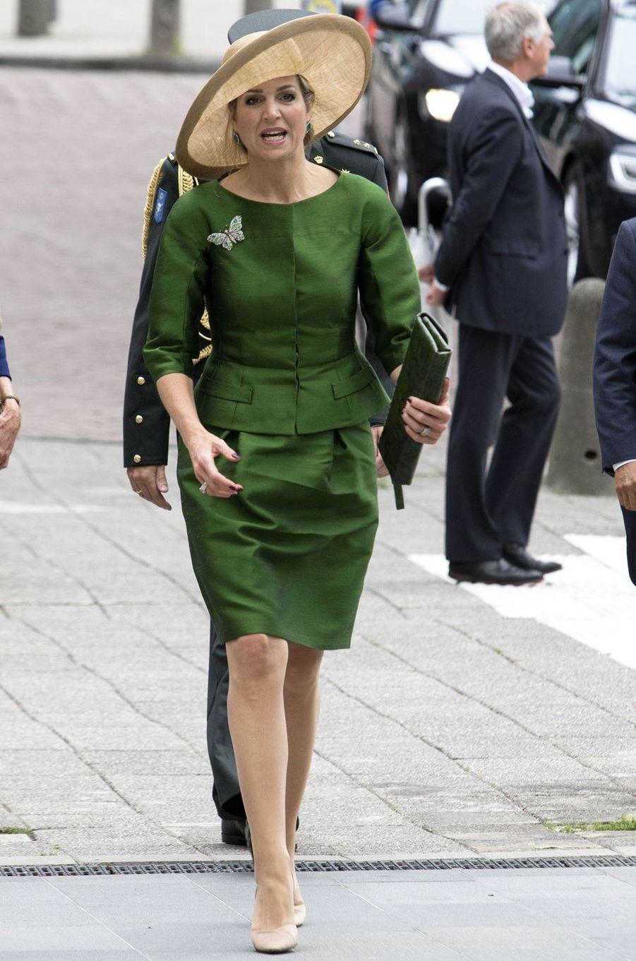La reine Maxima des Pays-Bas à Amsterdam, le 17 juin 2016