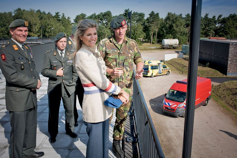 La reine Maxima des Pays-Bas à Vught, le 10 septembre 2015